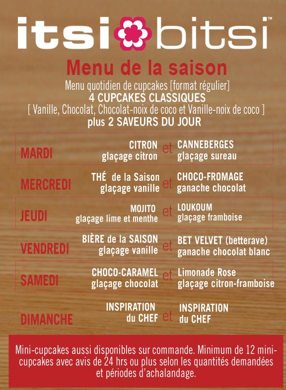 menu fr